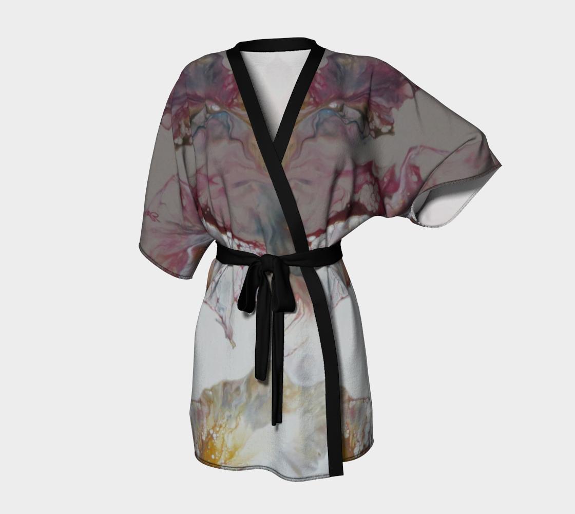 Aperçu de Aux couleurs de L'Amadou - #2 Kimono peignoir