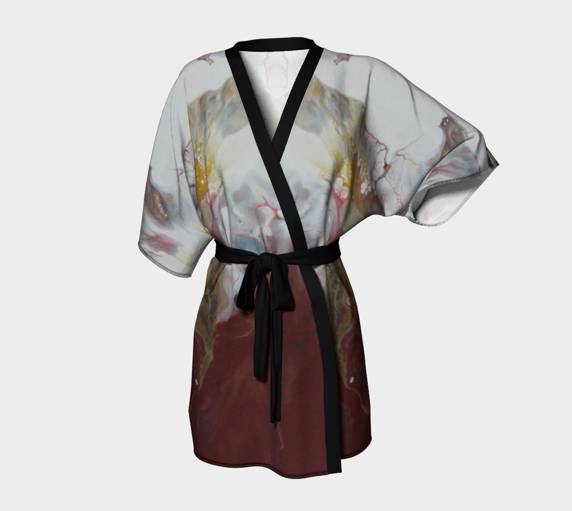 Aperçu de Aux couleurs de L'Amadou - #3 Kimono peignoir