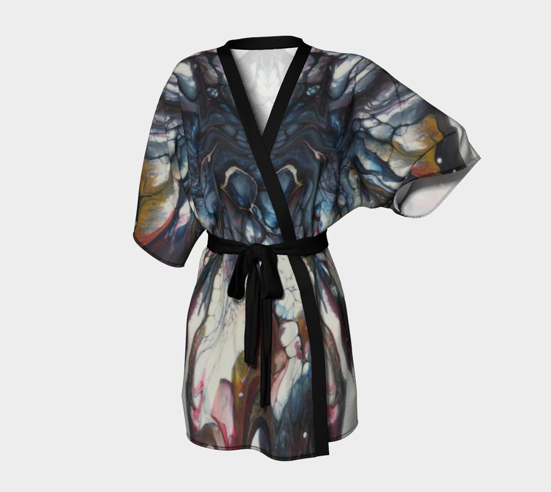 Aperçu de Majestueuse envolée - Kimono peignoir