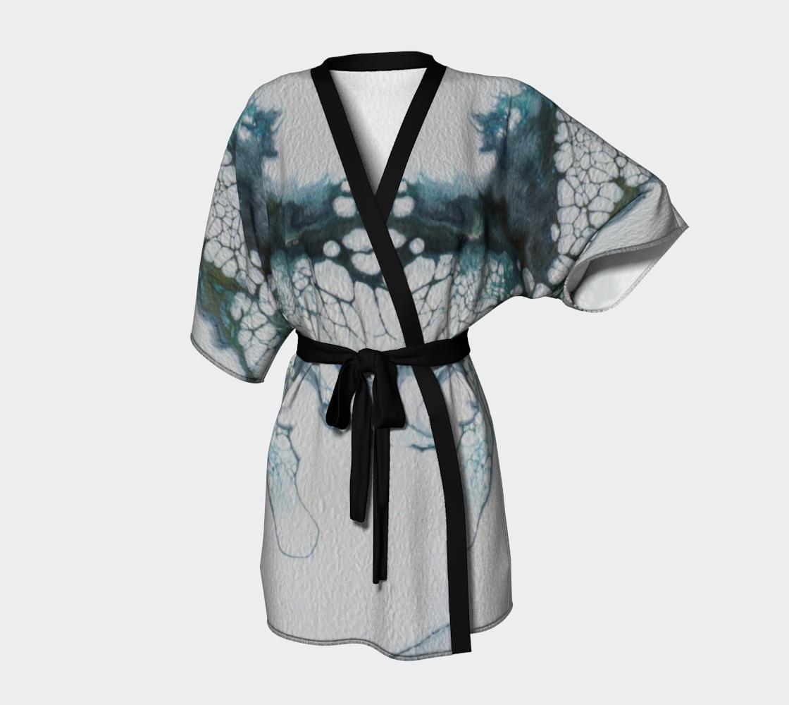 Aperçu de L'envol du papillon - Kimono peignoir
