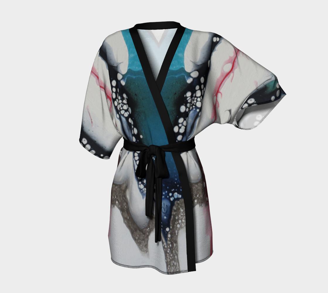 Aperçu de À cœur ouvert - Kimono peignoir