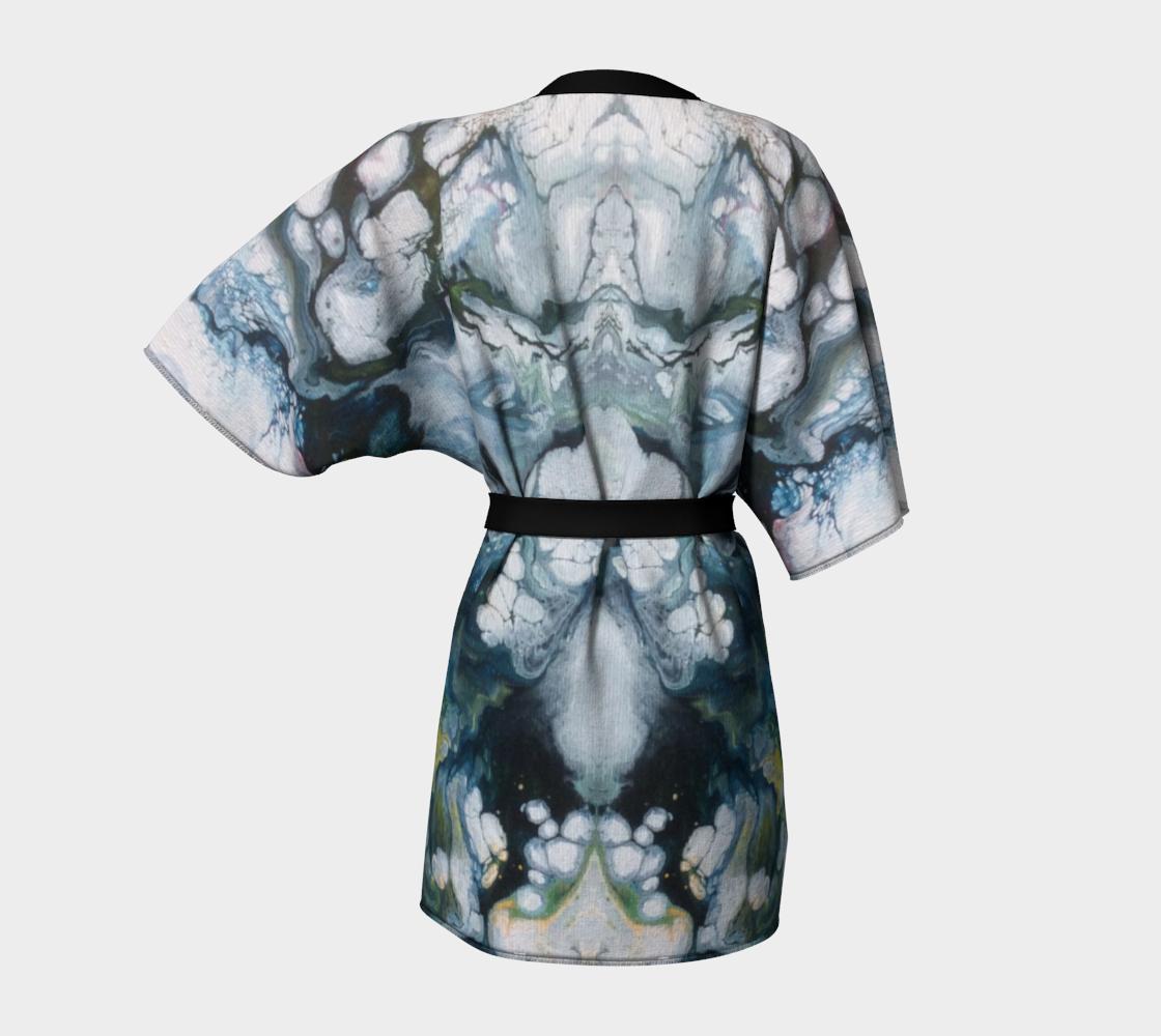 Aperçu de Le lys des glaces - Kimono peignoir #4