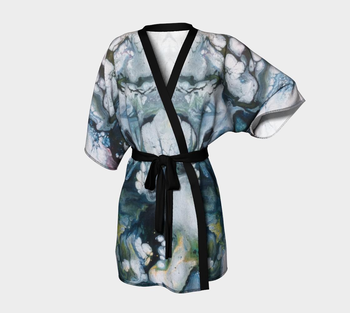 Aperçu de Le lys des glaces - Kimono peignoir
