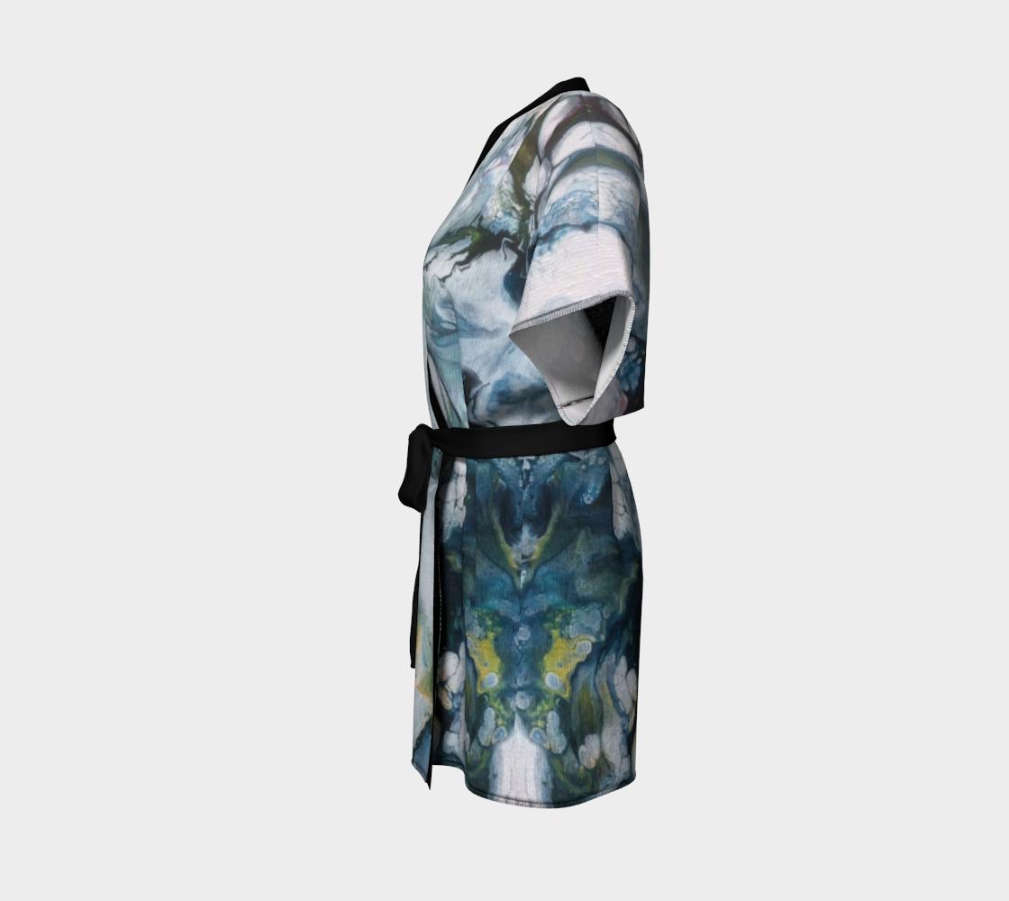 Aperçu de Le lys des glaces - Kimono peignoir #2