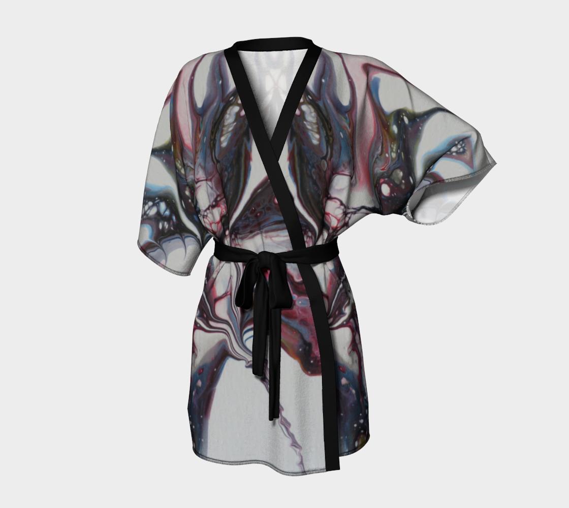 Aperçu de Fleur sauvage - Kimono peignoir