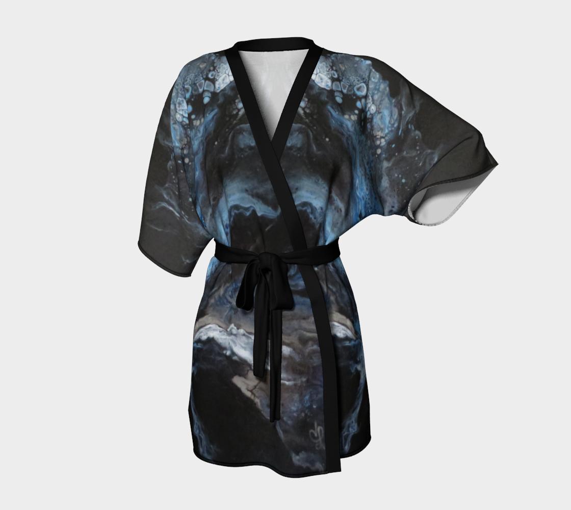 Les eaux déchainées - Kimono peignoir preview