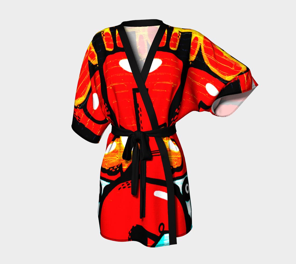 Graffiti 19 Kimono Robe preview