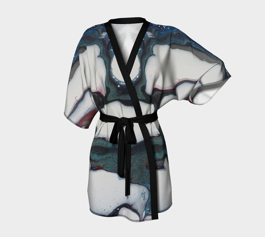 Aperçu de Les courants - Kimono peignoir