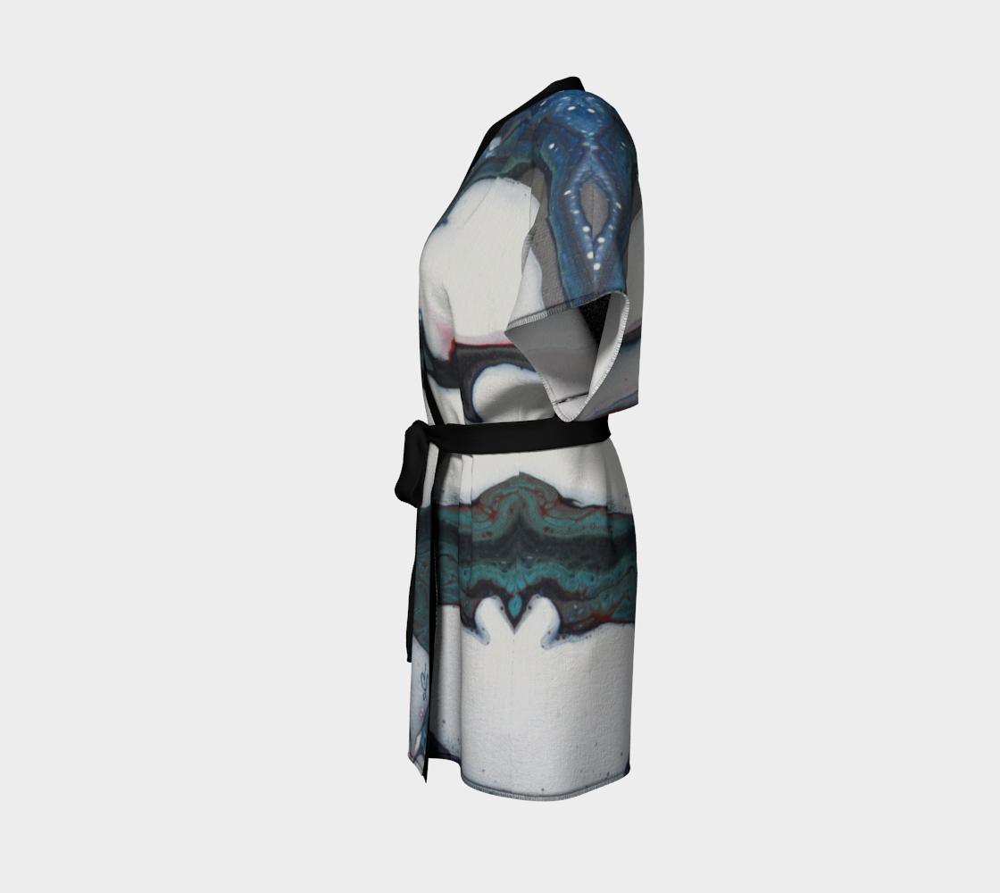 Aperçu de Les courants - Kimono peignoir #2