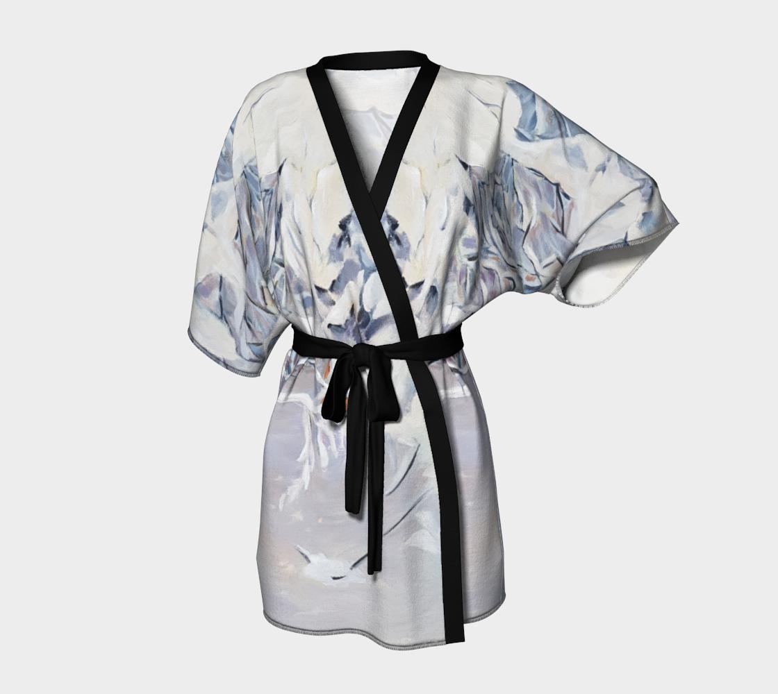Snowy Boughs Kimono Robe preview