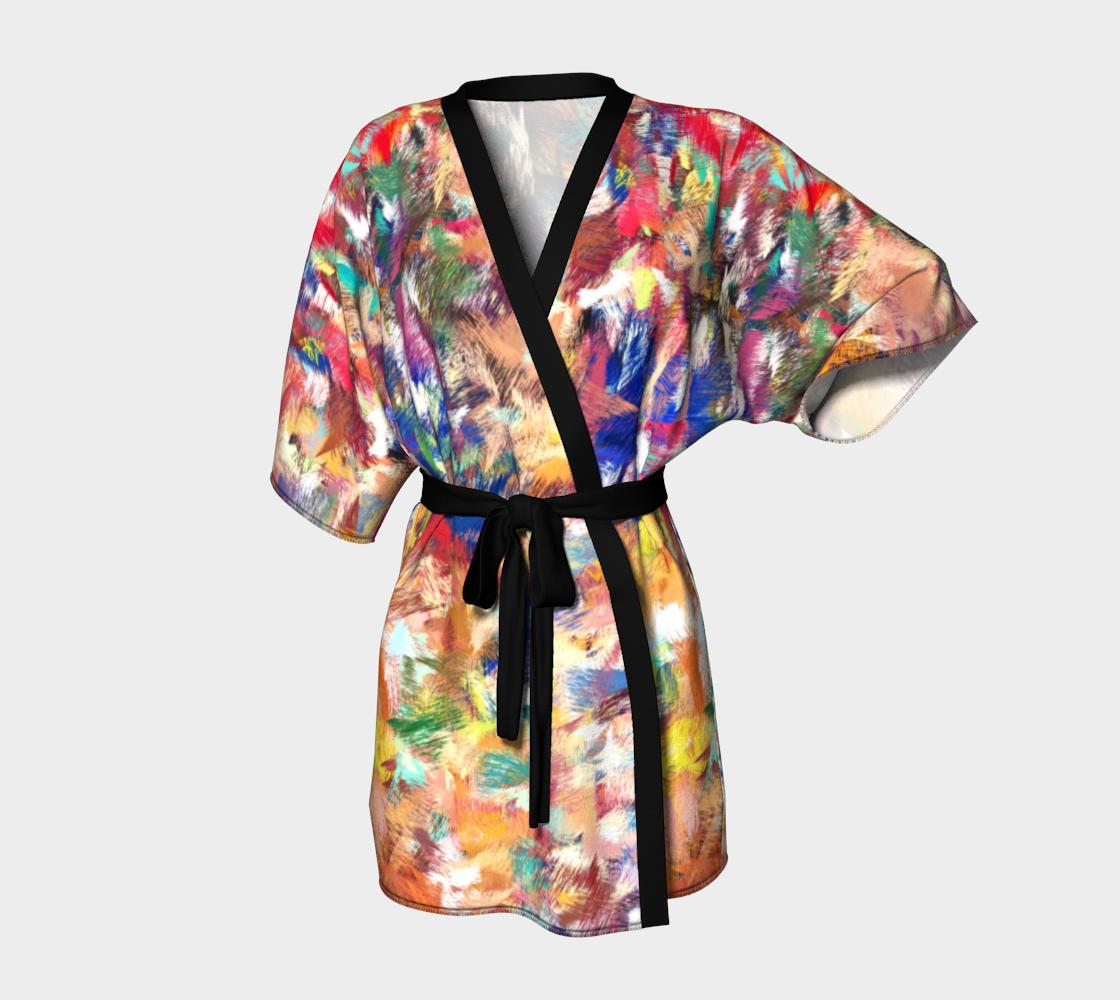 Aperçu de Animal Instinct Kimono Robe