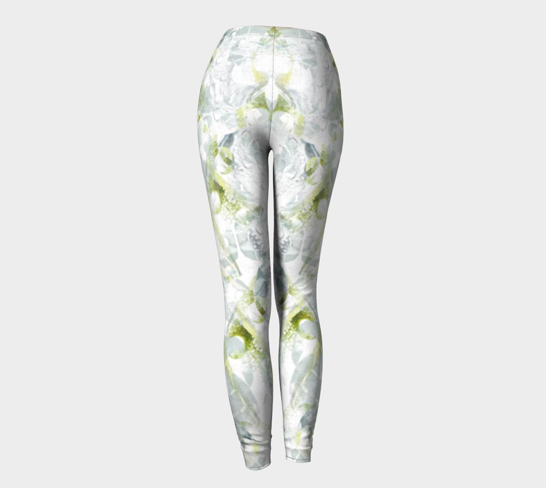 Aperçu de Spring Equinox 2 High Waist Leggings by Laura Davis Art Studio #4