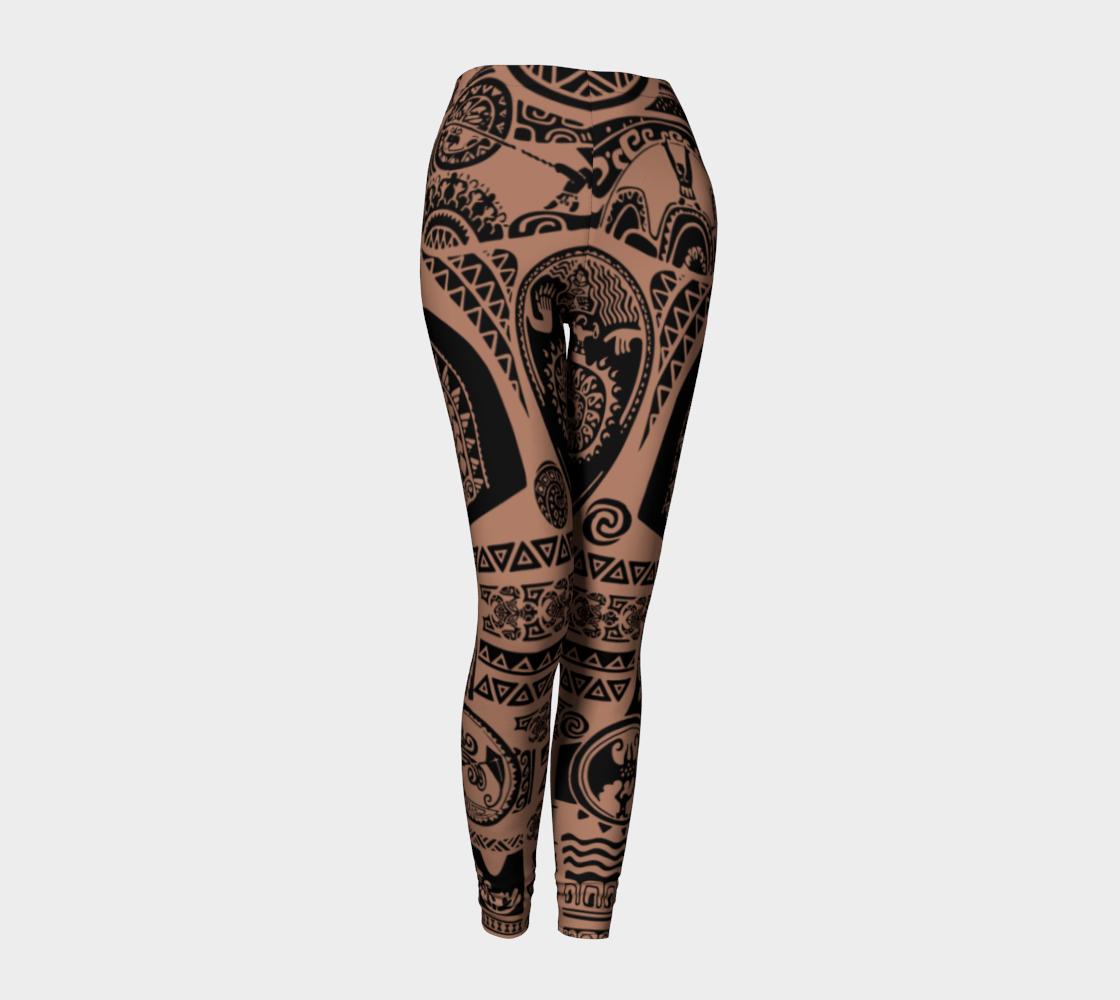 Maui Tattoos Inspired Disney Moana 000964 preview #1