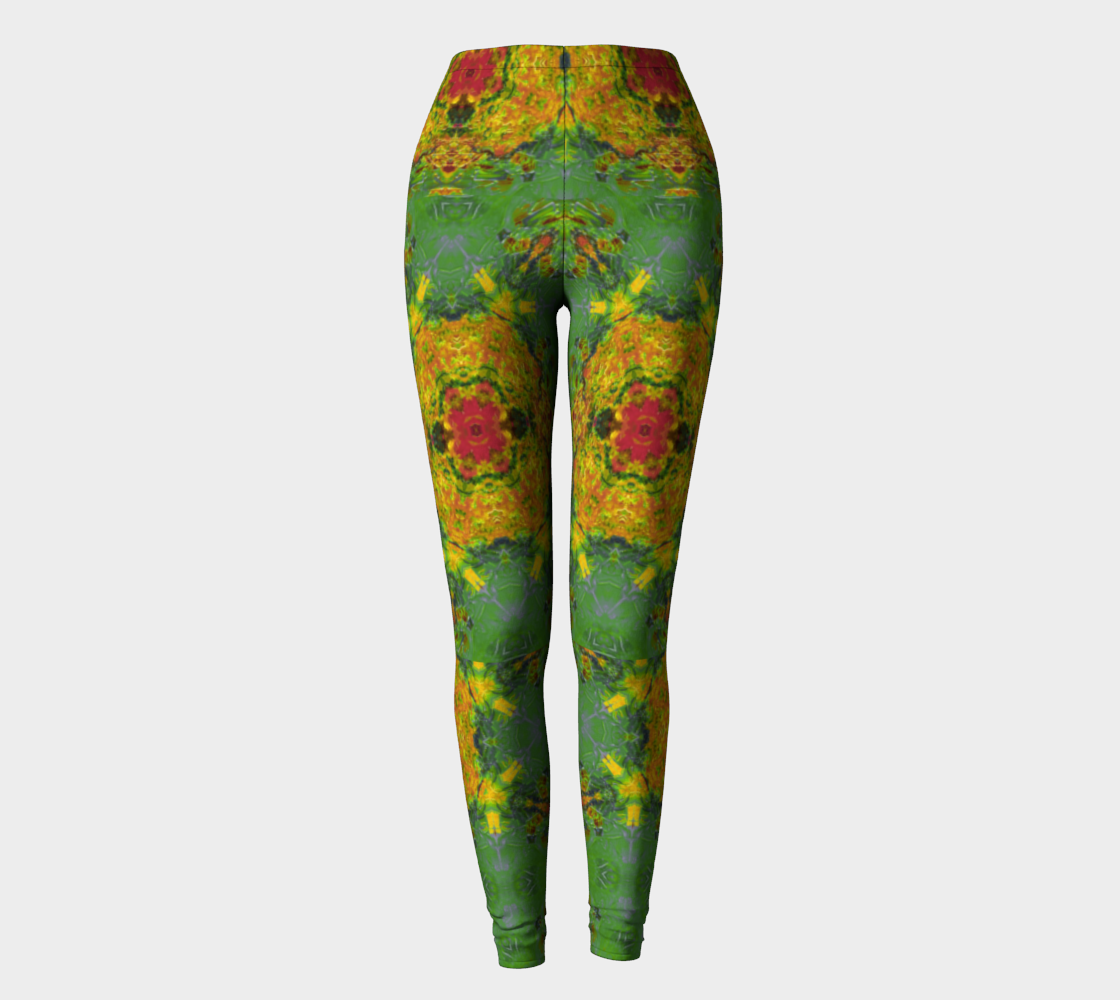 Becket Royal Paisley Firefly Leggings preview