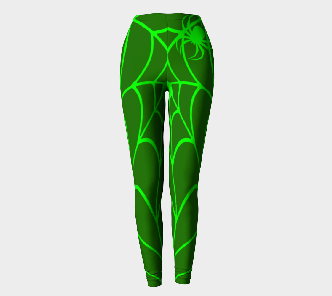 Lime Spider Spider Web preview