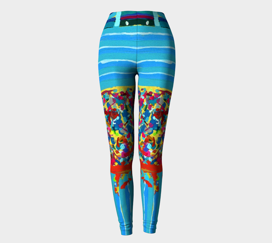 Dow 27,357 Trading Day Record Corporate Leggings preview