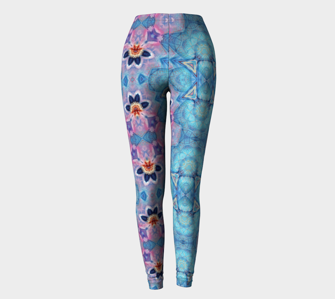 Fire Maiden  / Flower Party Fashion-Print Leggings preview