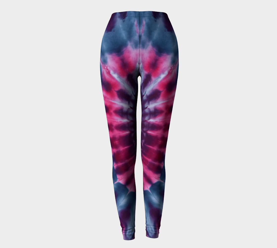 Pink Peacock Leggings preview