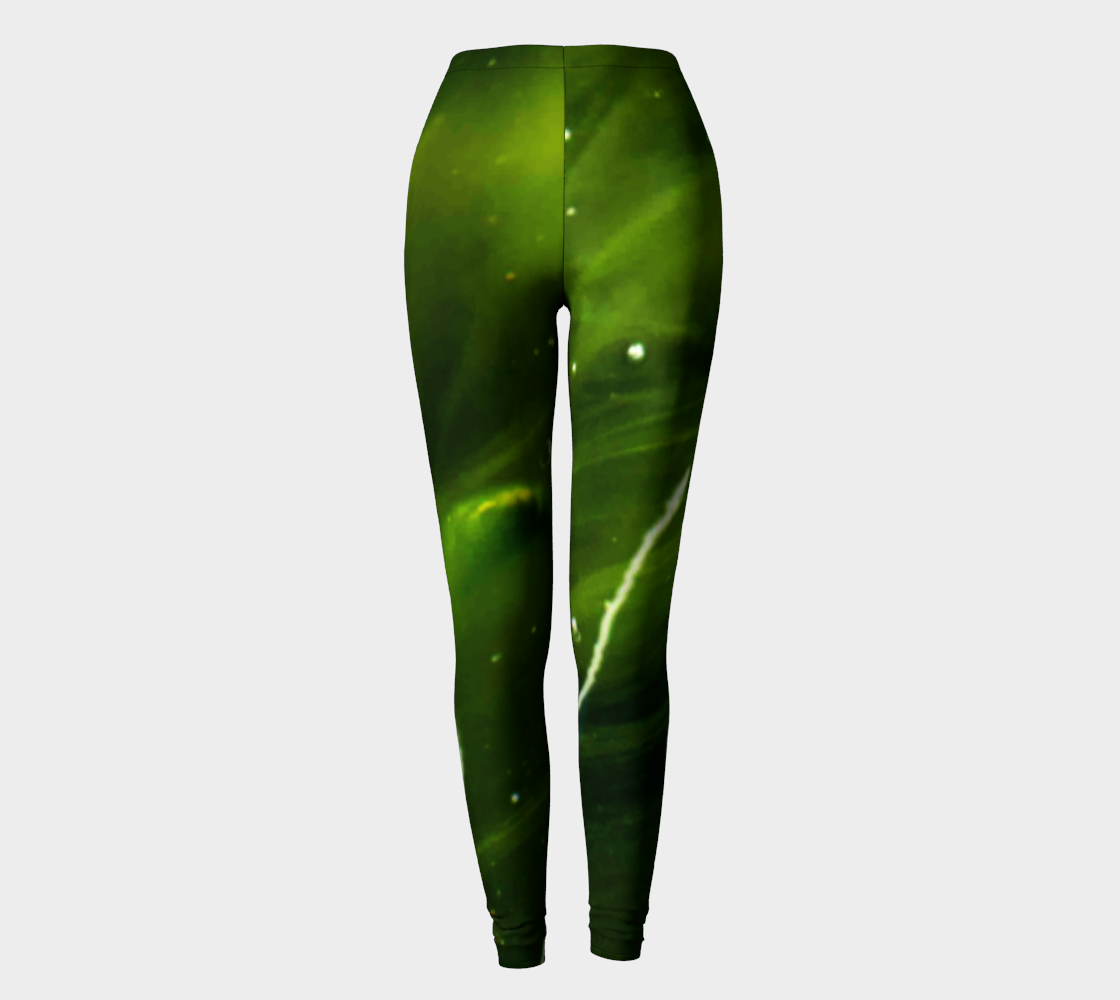 Green Algae and Water Leggings preview