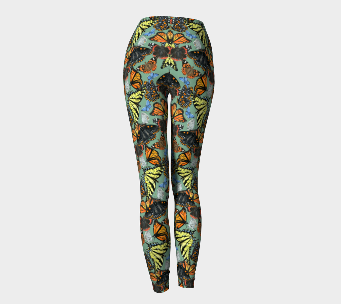 Butterfly Cloud Leggings preview #4