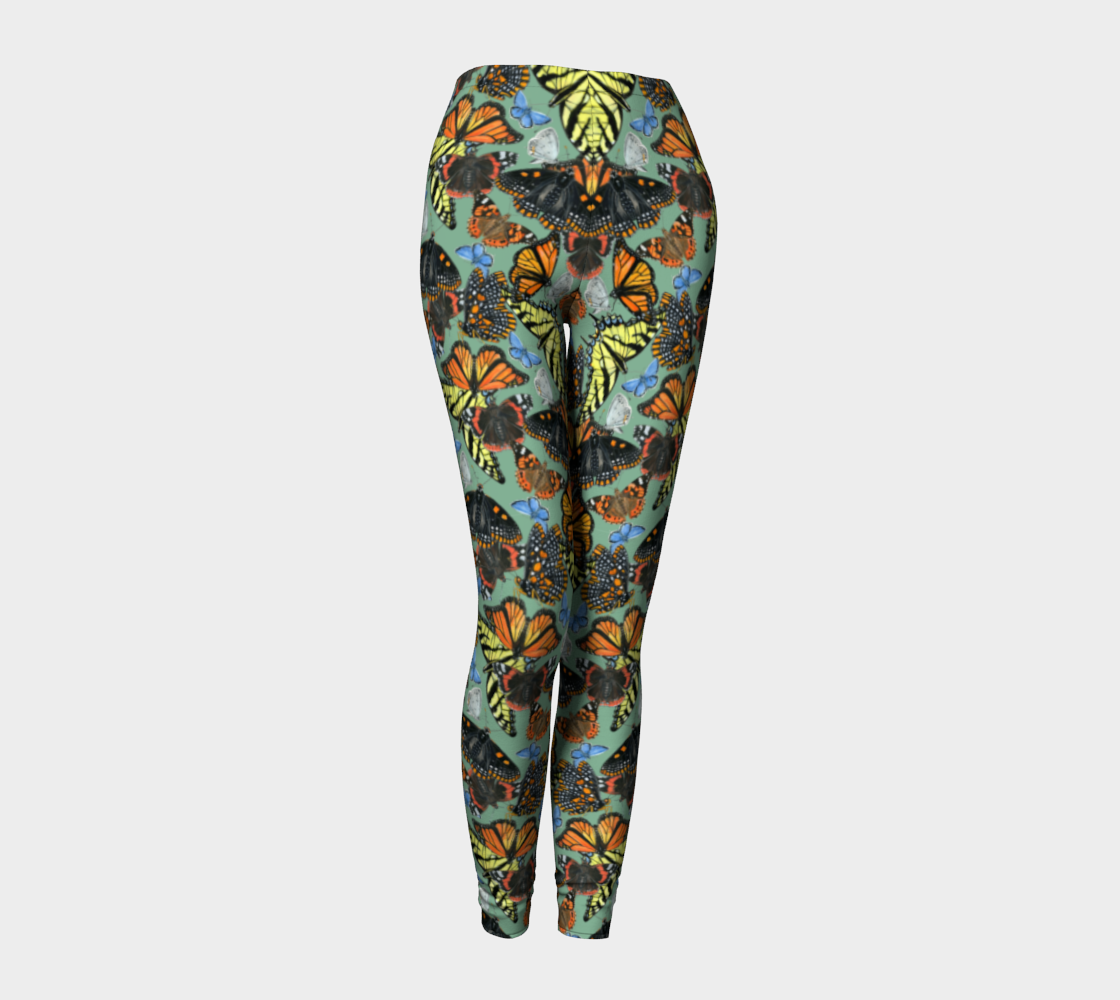 Butterfly Cloud Leggings preview #1
