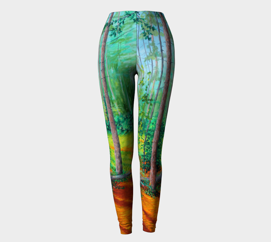 The Sun Emerges Leggings preview
