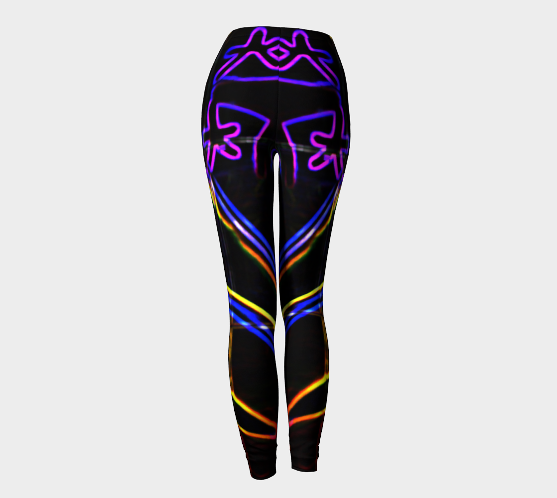 Graffiti 10 Leggings thumbnail #5