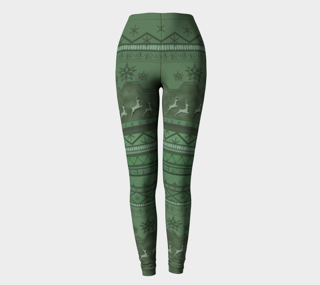 Canada Leggings Christmas Noelle Costume Cosplay Ideas preview