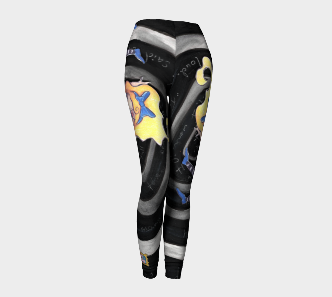 Down the Rabbit Hole Leggings preview #1
