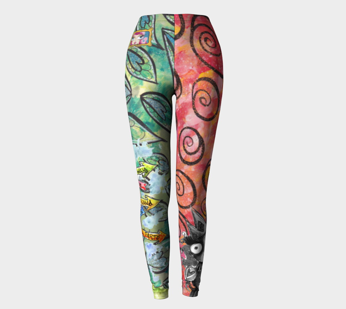 Welcome to Wonderland leggings preview