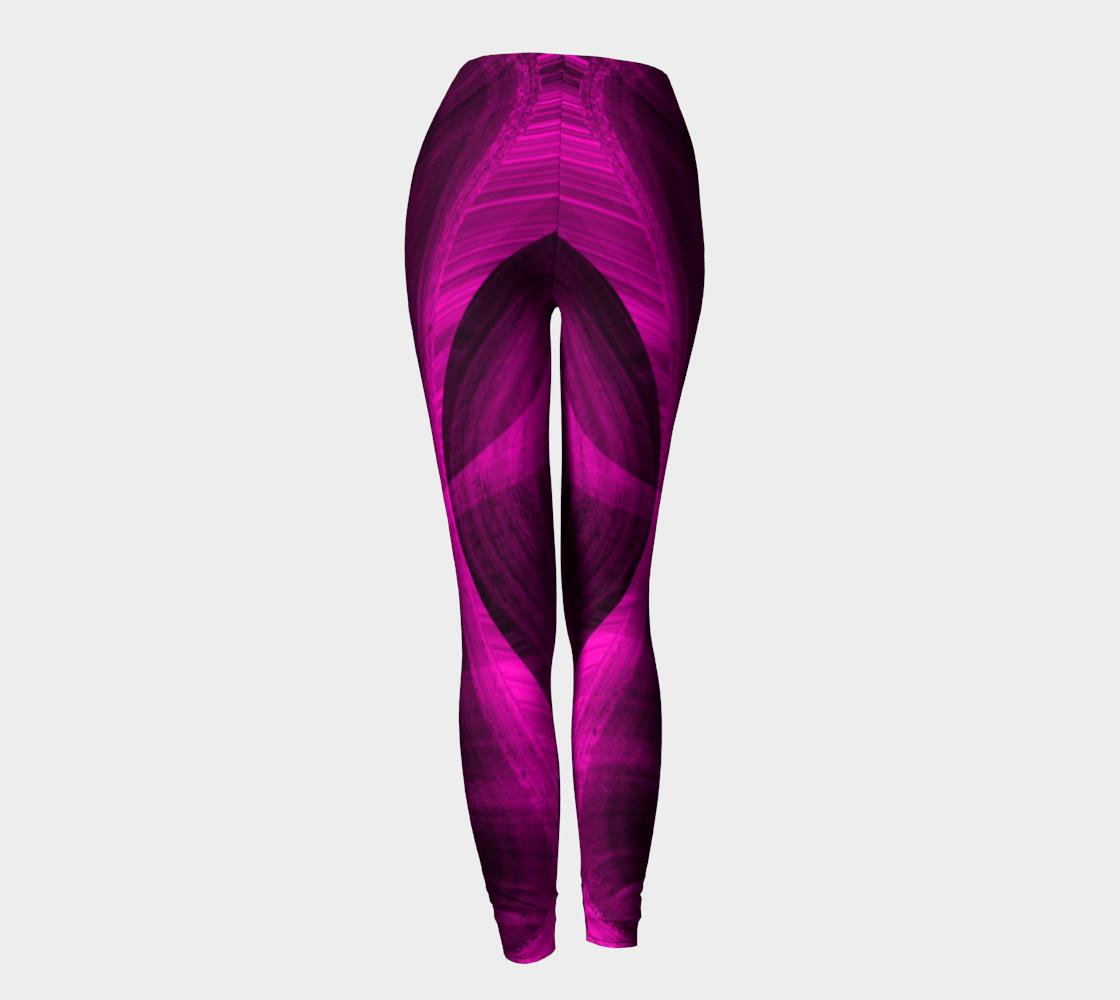Pinkish Black Hole Leggings preview #4