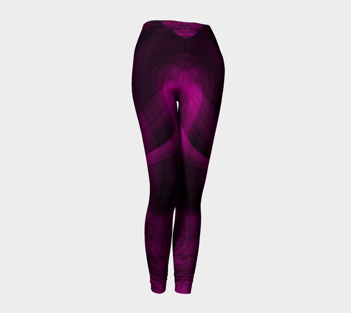 Pinkish Black Hole Leggings preview #1