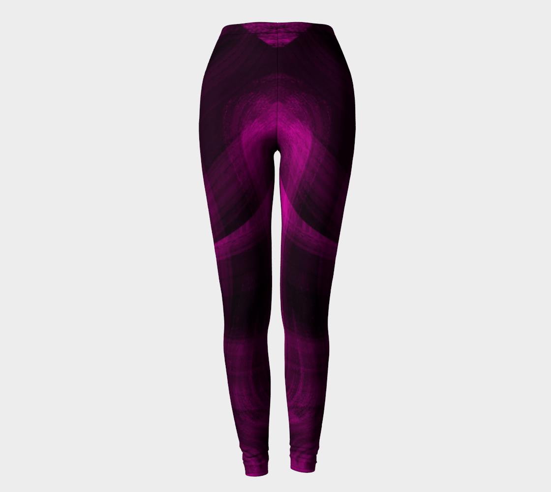 Pinkish Black Hole Leggings preview #2