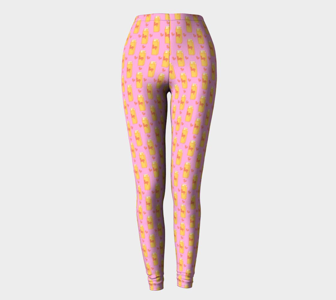 Ladies Beep! (Pink) Leggings preview