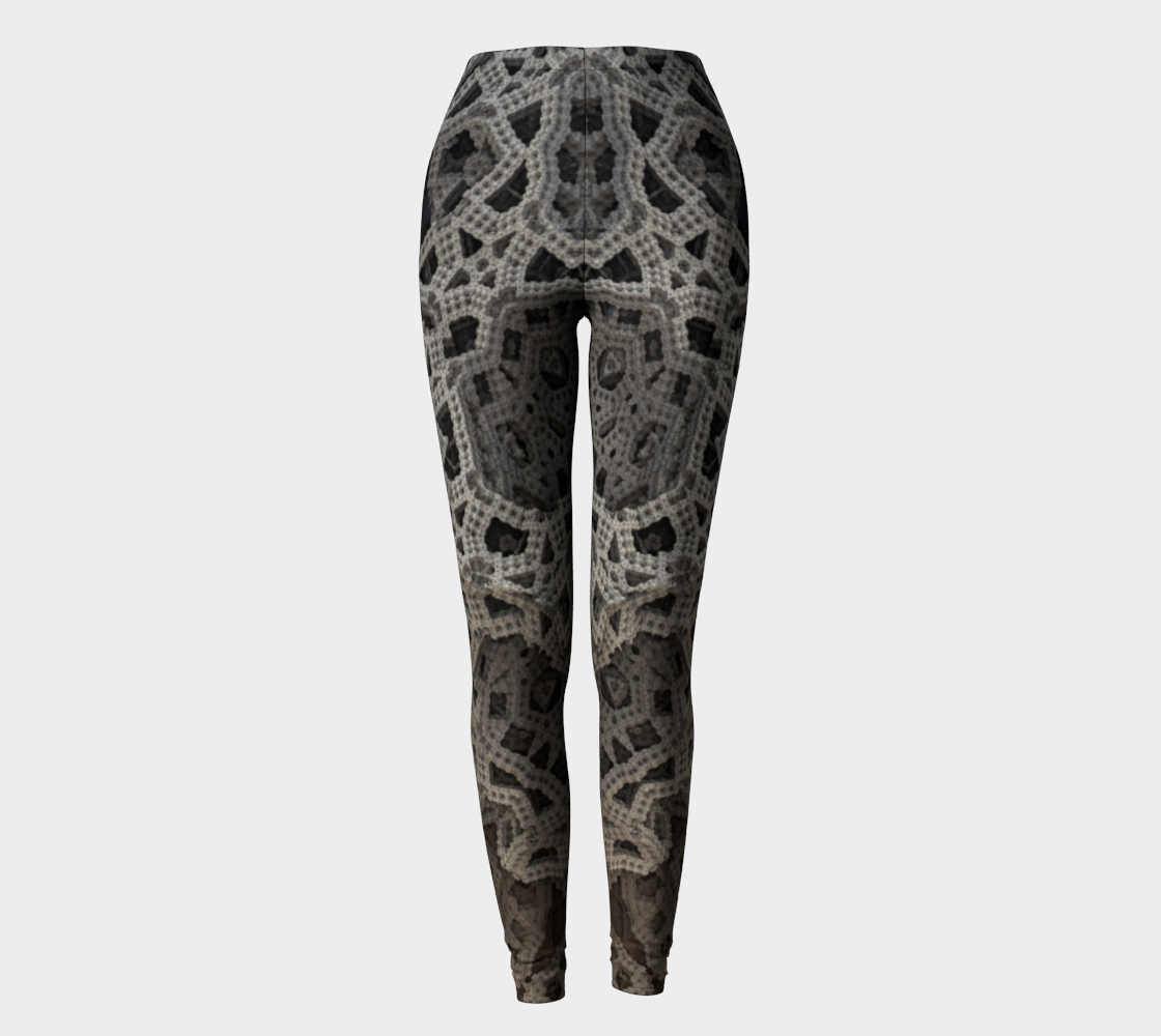 Architectural Coral Chain Leggings preview