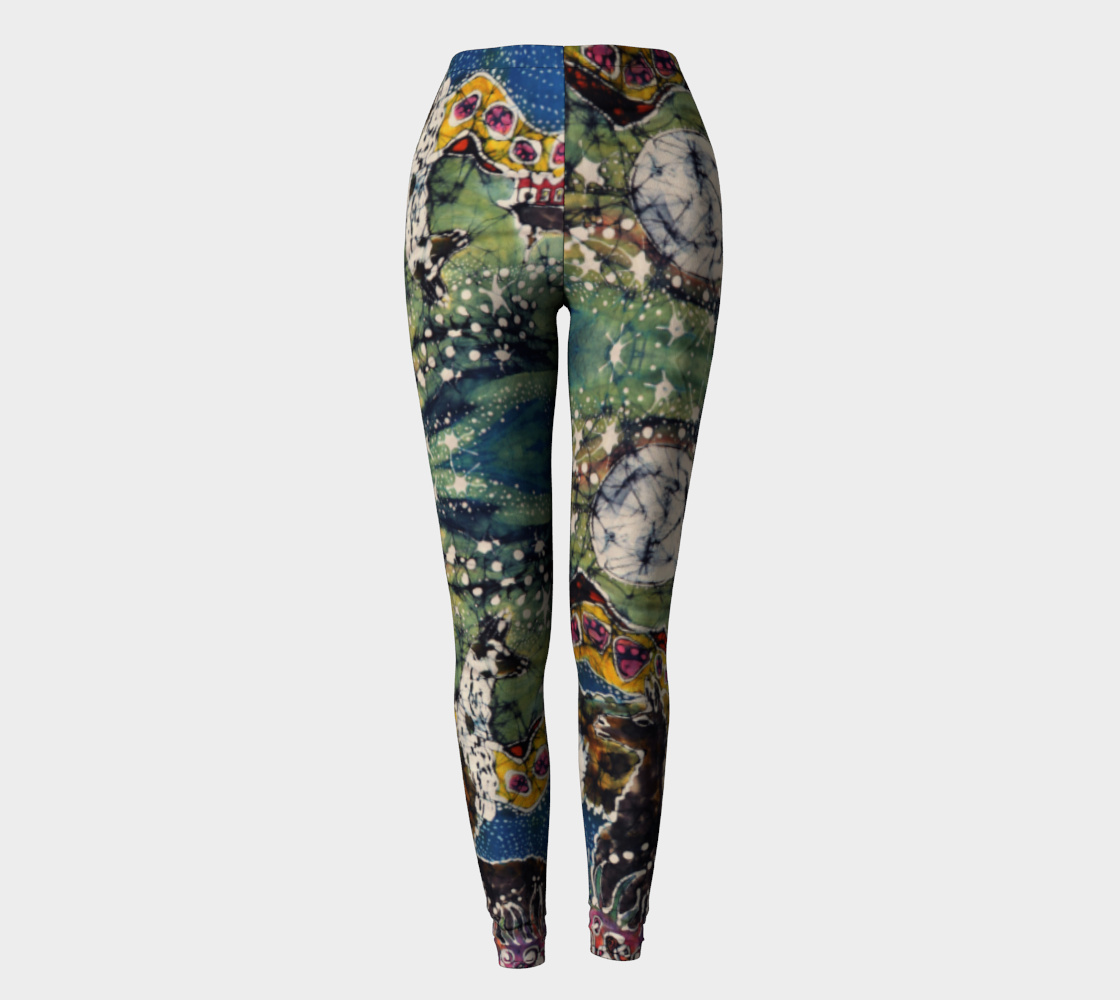Hills Alive With Llamas Leggings preview