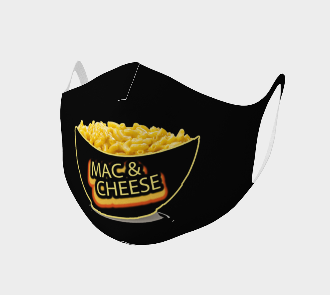 Mac & Cheese face mask preview