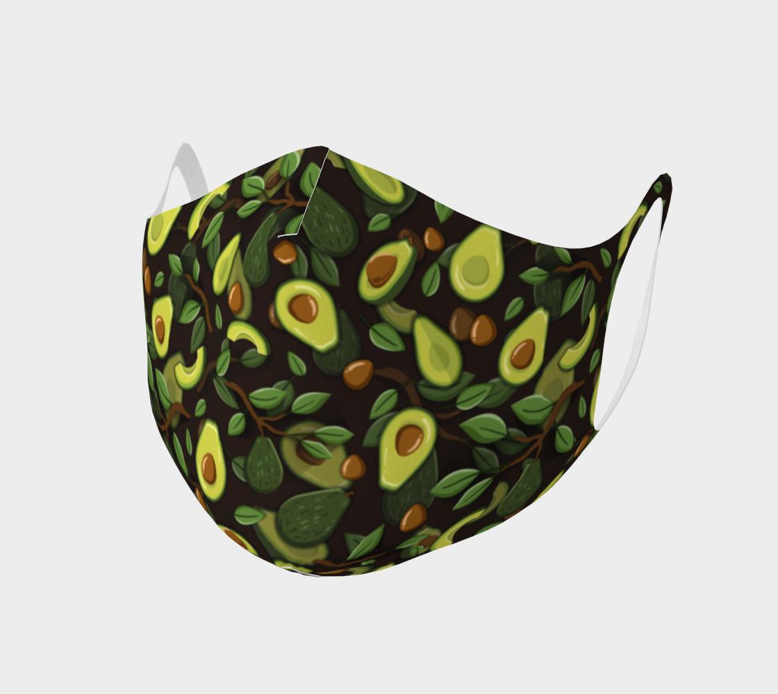 Avocado face mask preview