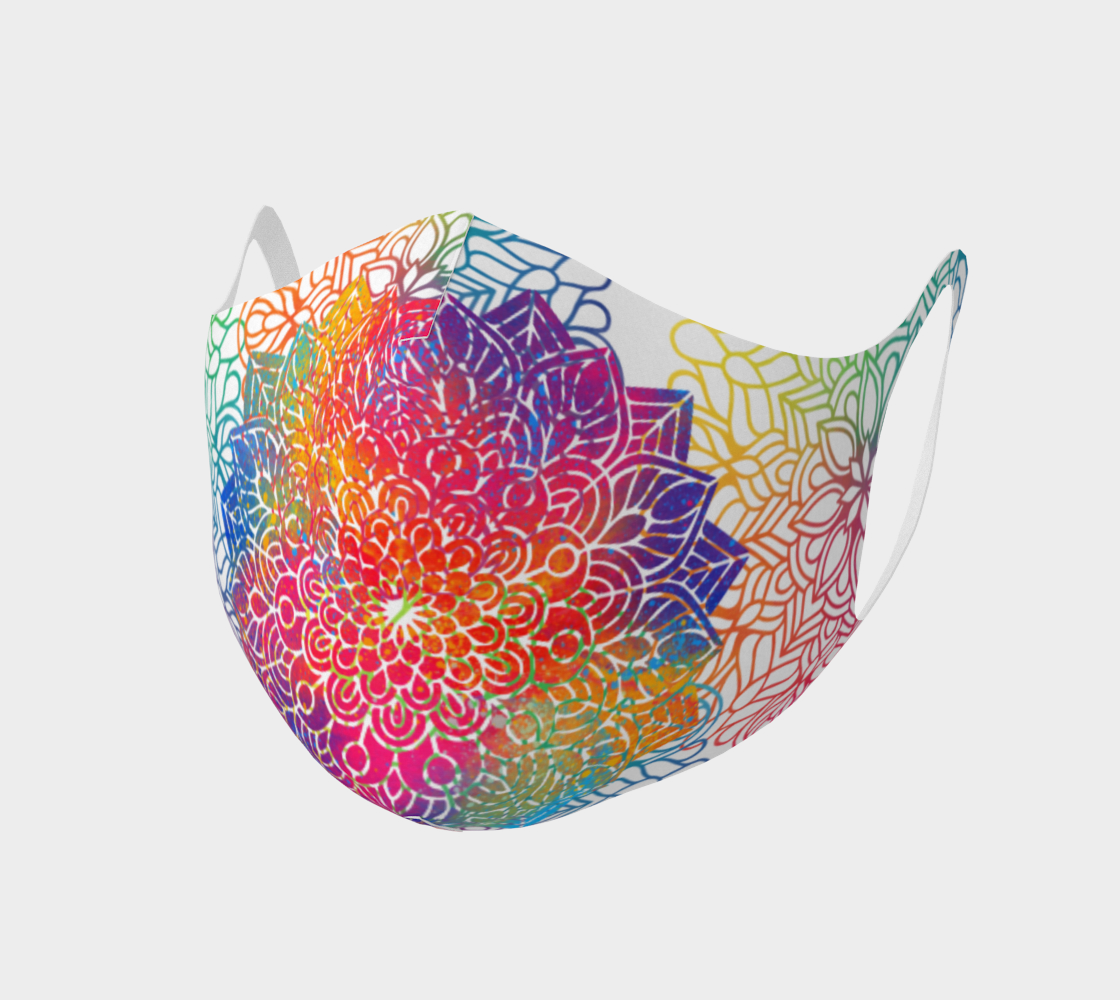 Mandala face mask 1 preview