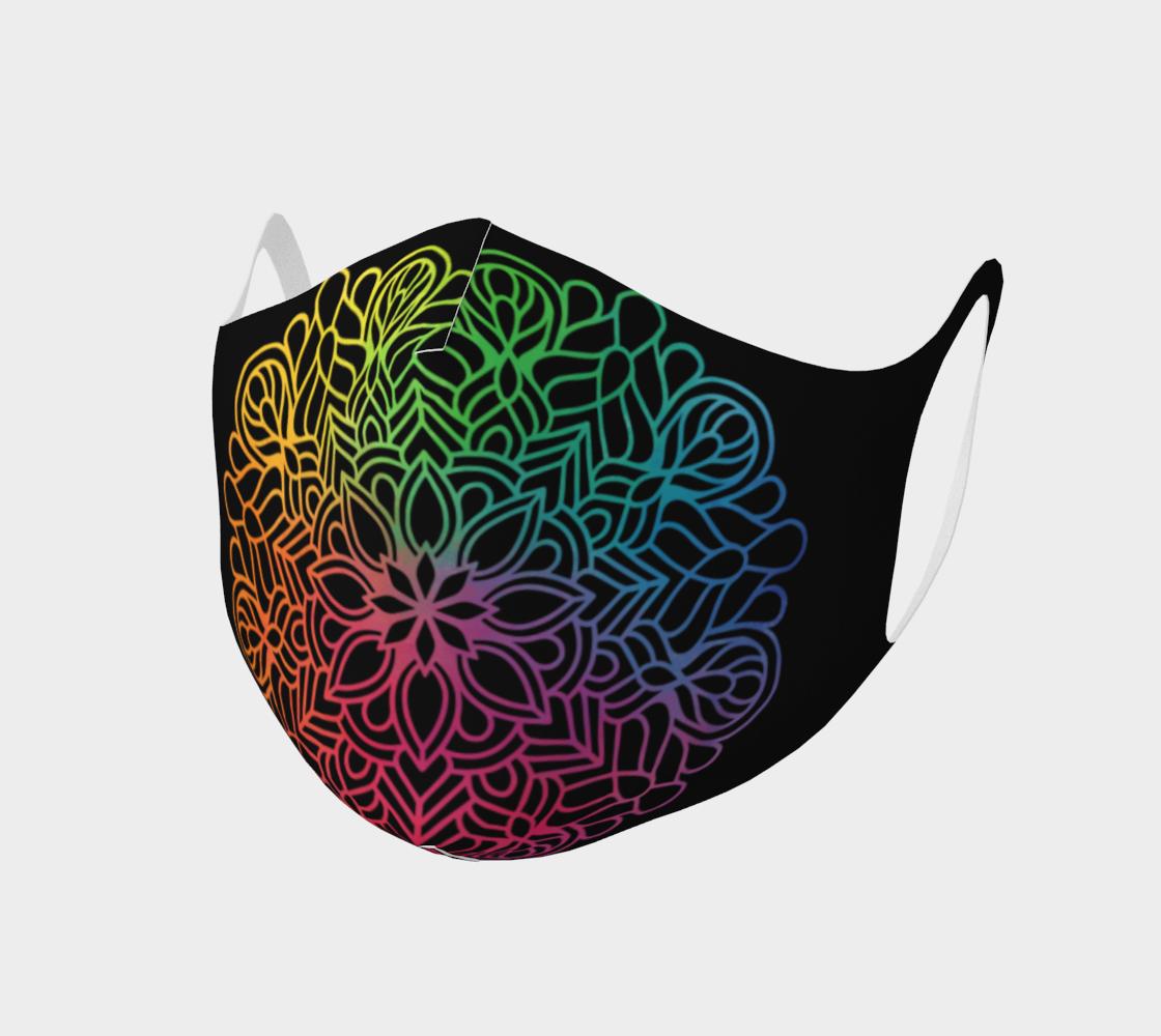 Mandala face mask 2 preview
