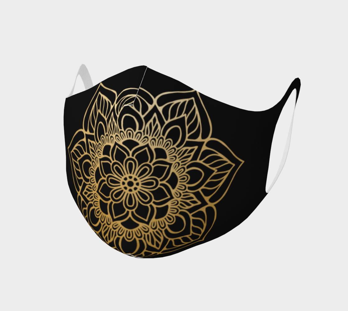 Mandala face mask 4 preview #1