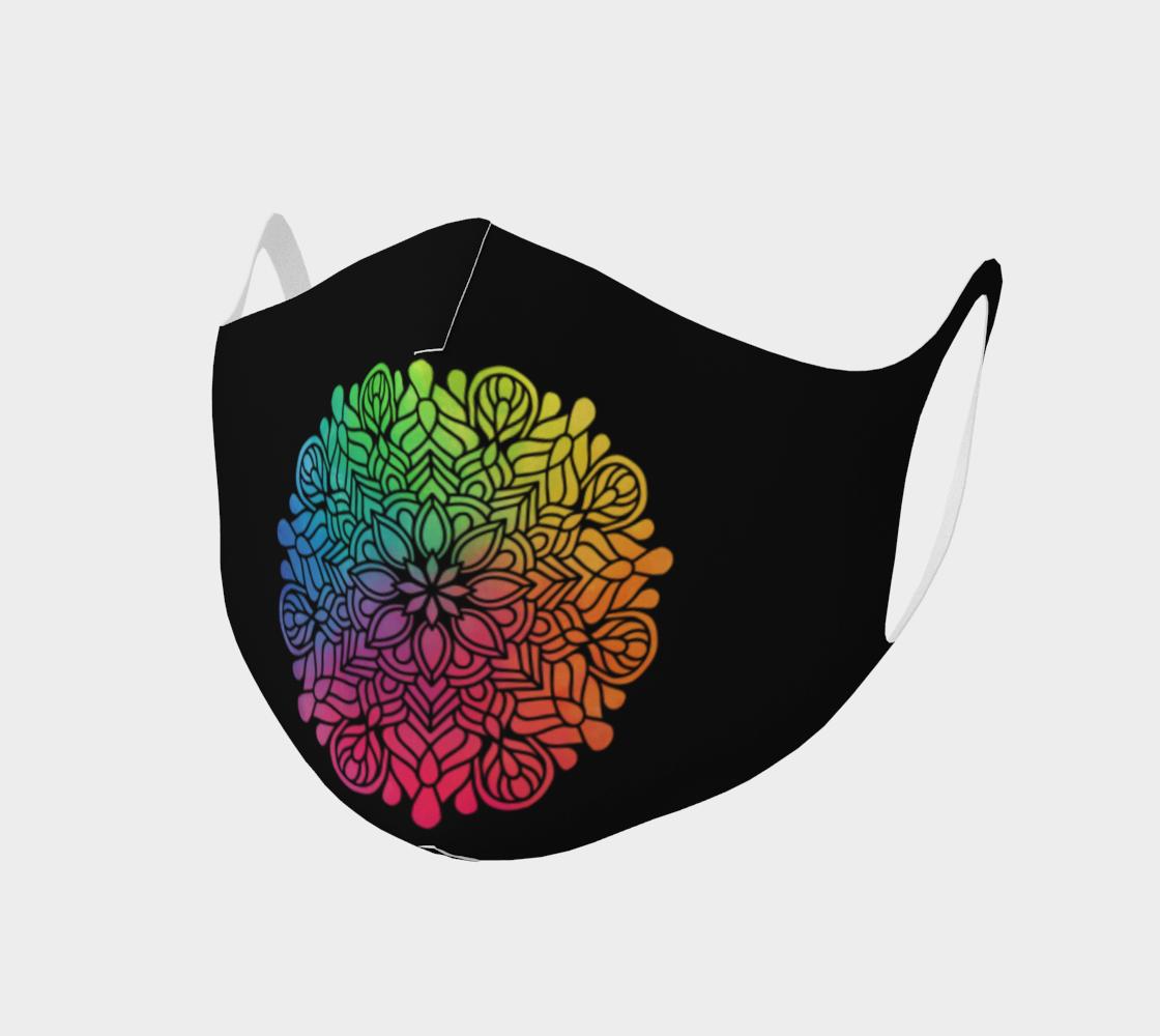 Mandala face mask 5 preview
