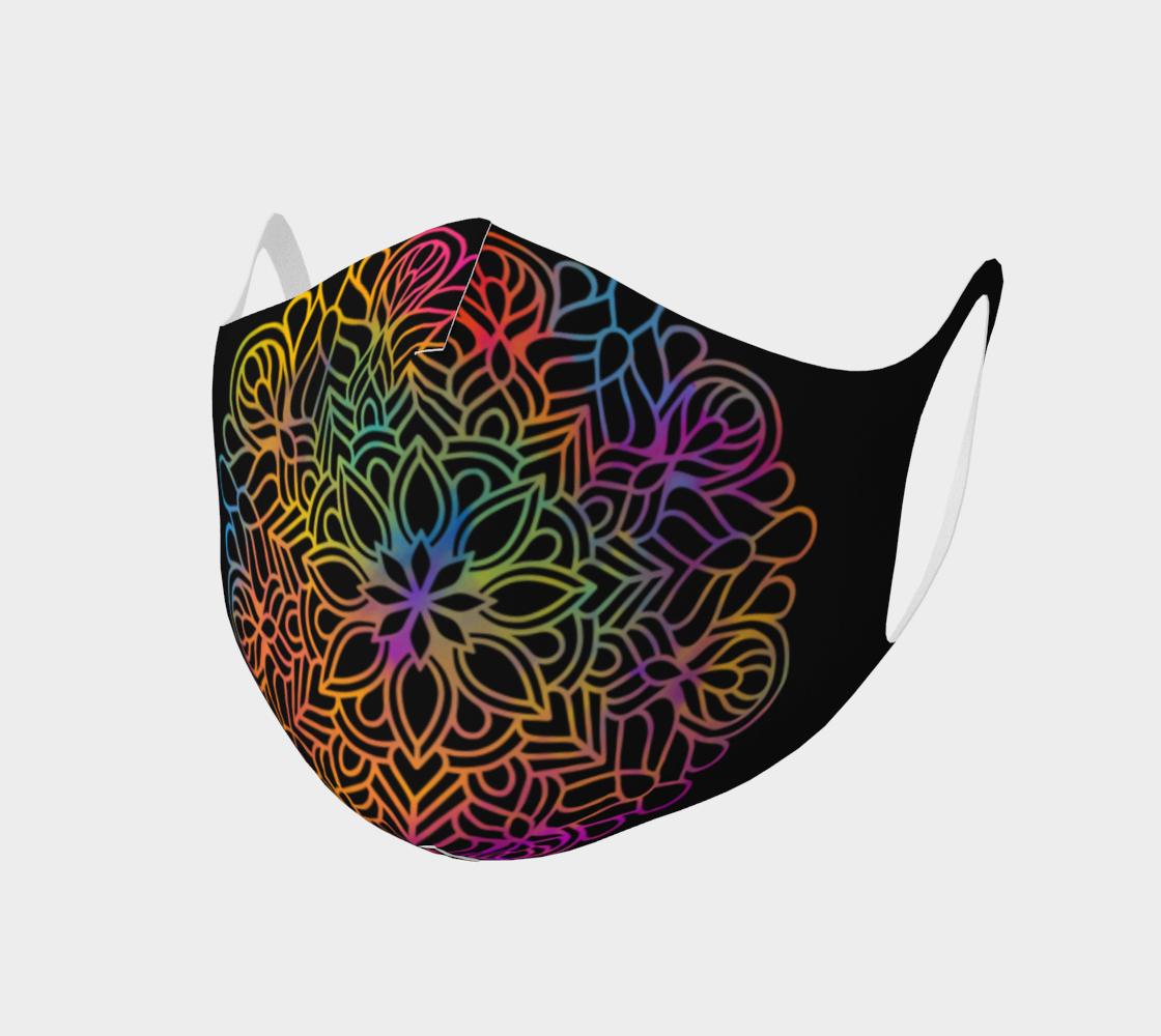 Mandala face mask 6 preview
