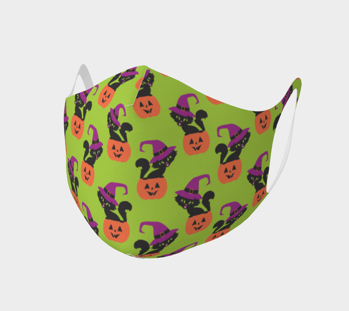 Halloween cat mask 3 preview