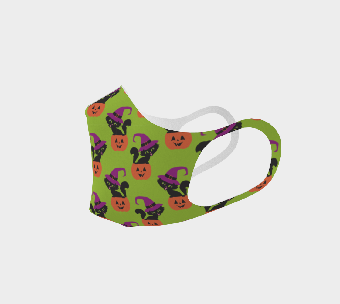 Halloween cat mask 3 preview #2