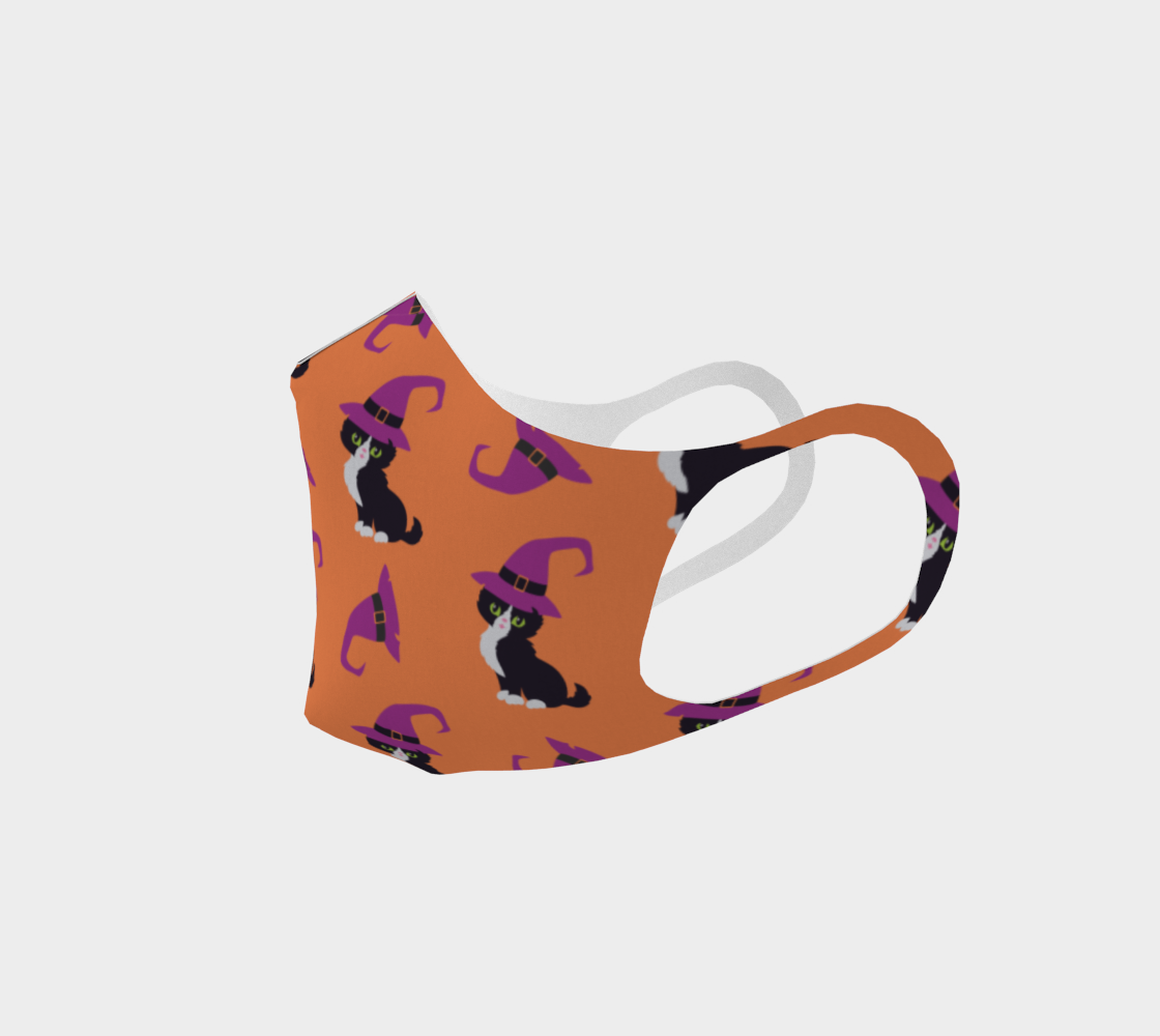 Halloween cat mask 4 preview #2