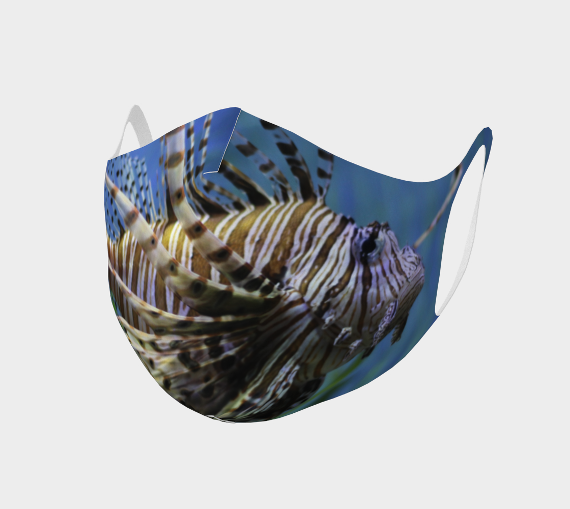 Lionfish Face Covering preview