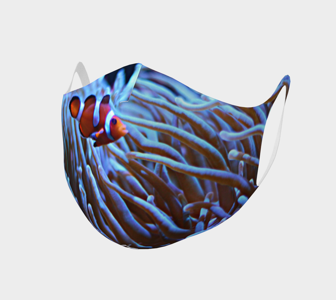 Clownfish Anemone Face Covering  preview
