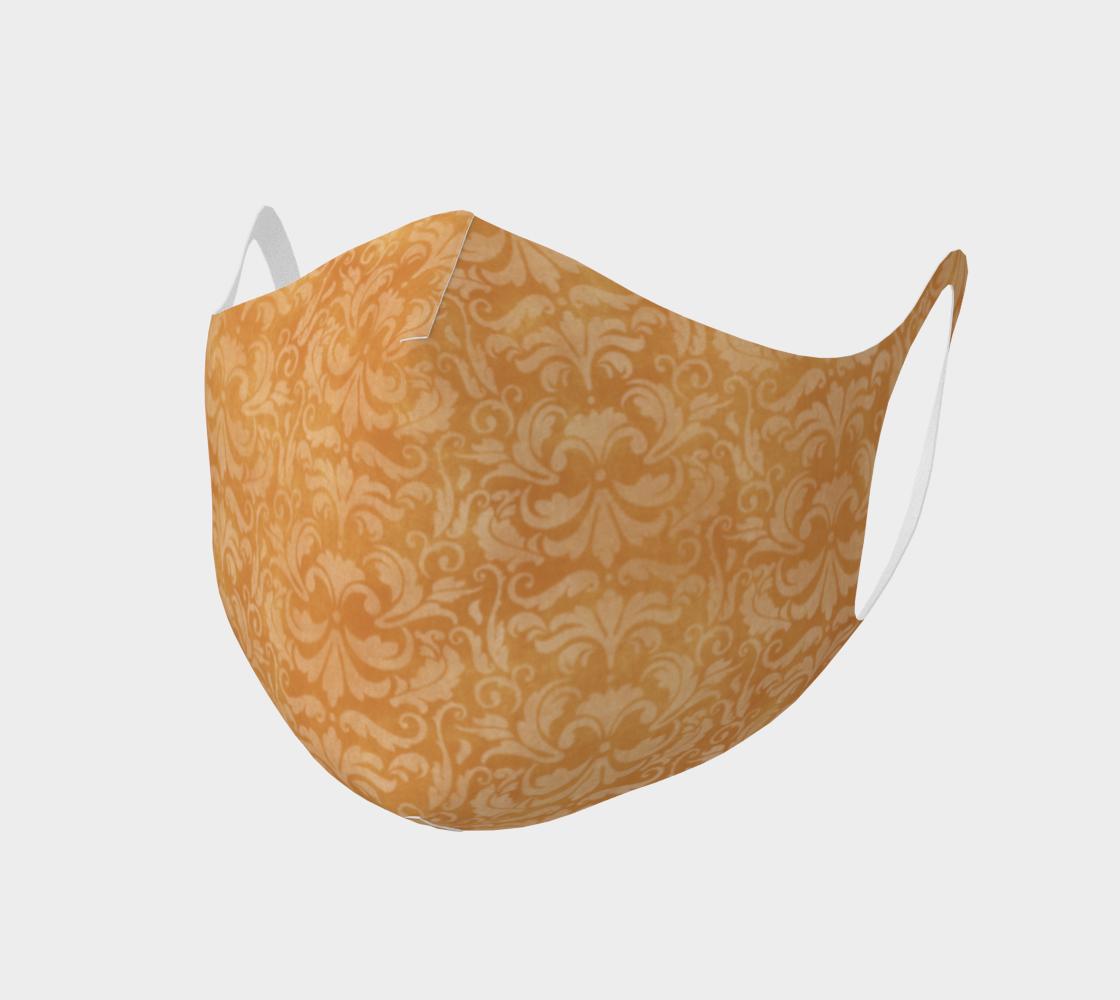 Aperçu de Yellow Steampunk Classy Face Mask