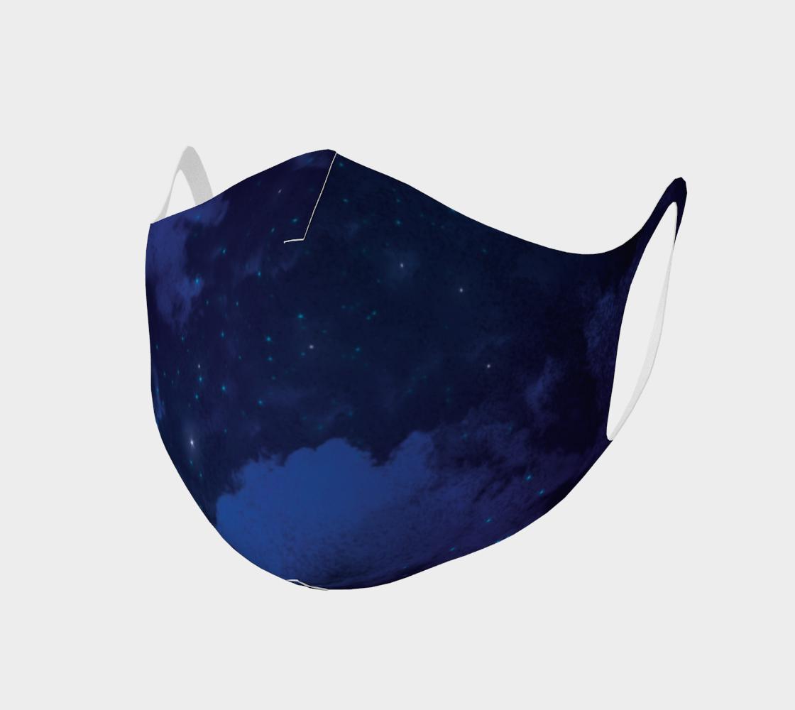 Aperçu de Bard Magic Blue Face Mask